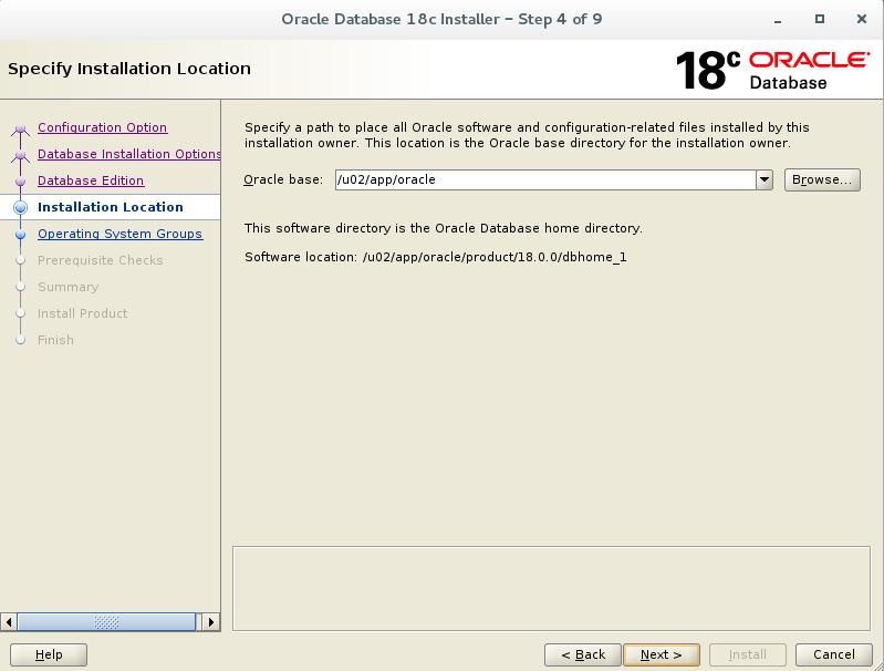 Oracle Linux 18c GA Installation
